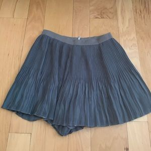 free people pleated shorts